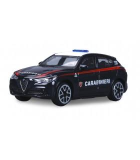 Modellini Auto Security Team Burago Carabinieri Scala 1:43 Expo da 24 pz. modelli assortiti