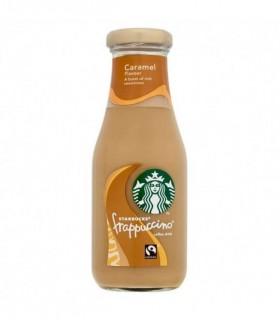 COFFE DRINK STARBUCKS FRAPPUCCINO AL CARAMELLO BOTTIGLIA IN VETRO 250 ml