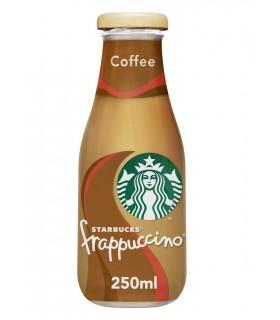 COFFE DRINK STARBUCKS FRAPPUCCINO AL CIOCCOLATO E CAFFE' BOTTIGLIA IN VETRO DA 250 ml