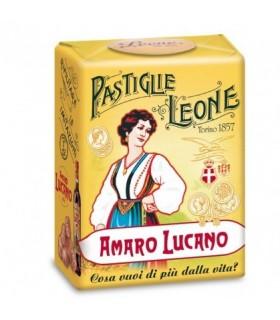 PASTIGLIE LEONE AMARO LUCANO IN SCATOLETTA DA 30G CONF. 18 PZ.