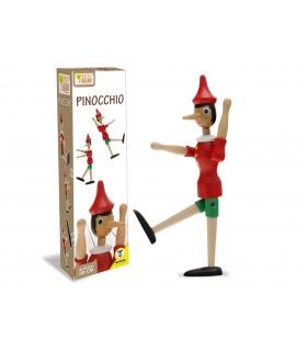 Pinocchio in Legno H.30 cm
