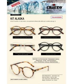Occhiali da Lettura El Charro Kit Alaska Expo da 24 pz. assortiti con 4 colori