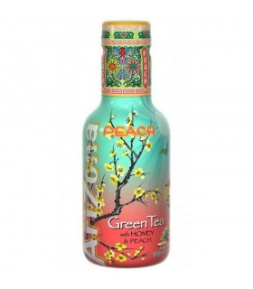 ARIZONA GREEN TEA  VERDE ALLA PESCA BOTTIGLIA DA 500 ml