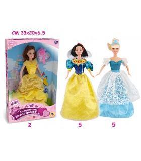Principessa Fiabe cm 29 Disponibile in 3 Modelli