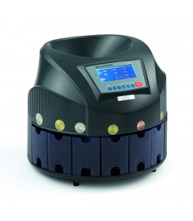 Conta Dividi Monete Holenburg Mod. CM020 con Ampio Display LCD e 8 cassetti (capacità carico 300/500 monete)