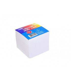 Cubo 9x90 cm Colore Bianco 8010 Fogli incollati su un lato