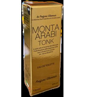 Profumo Glamour Ispirato a Montale d'Arabia da 15 ml N°554