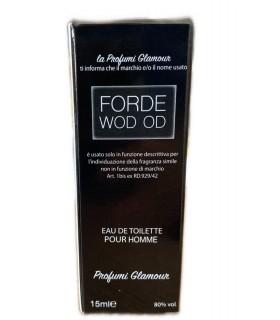 Profumo Glamour Ispirato a Oud of wood di Tom Ford da 15 ml N°555