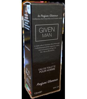 Profumo Glamour Ispirato a Givenchy Man da 15 ml N°556