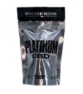 Infiorescenza di Cannabis Light GOLDEN HOUR PLATINUM CDB 20% bustina da 1gr