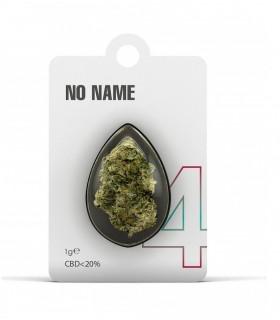 Infiorescenza di Cannabis Light NO NAME N.4 CBD 20% bustina da 1gr