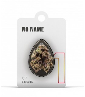 Infiorescenza di Cannabis Light NO NAME N.1 CBD 20% bustina da 1gr