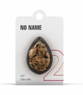 Infiorescenza di Cannabis Light NO NAME N.2 CBD 20% bustina da 1gr