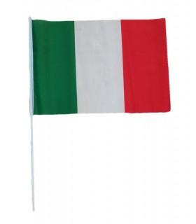 Bandiera Italia con Asta Misura 60x90 cm