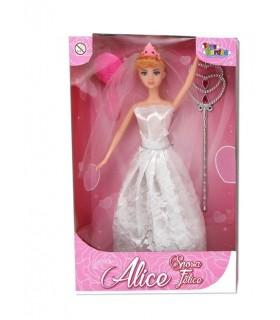 Bambola Alice Sposa