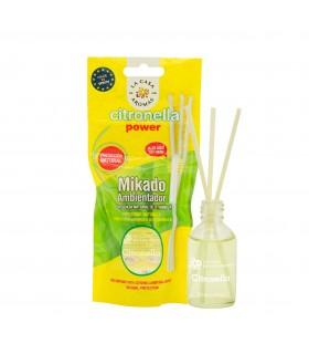 Diffusore per Ambienti Mikado Liquido alla Citronella 30ml