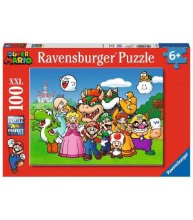 Puzzle Ravensburger 49x36 cm. 100 pz. Super Mario Kidz
