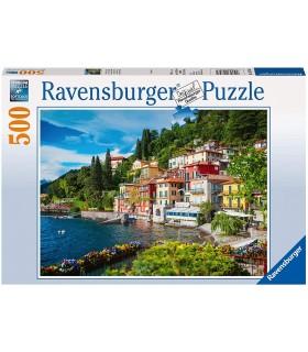 Puzzle Ravensburger 49x36 cm. 500 pz. Lago di Como