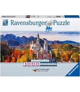 Puzzle Ravensburger 98x37 cm. 1000 pz. Castello Bavaria Germania