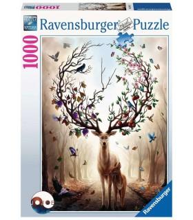 Puzzle Ravensburger 70x50 cm. 1000 pz. Cervo Magico