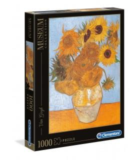 Puzzle Clementoni Collection 1000 pz. Van Gogh - Girasoli