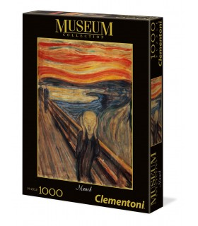Puzzle Clementoni Museum Collection 1000 pz. L'urlo di Munch