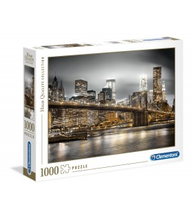 Puzzle Clementoni Collection 1000 pz. New york Skyline