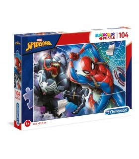 Puzzle Supercolor Clementoni 104 pz. Marvel Spider Man