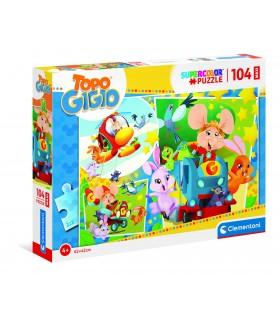 Puzzle Supercolor Clementoni Maxi 104 pz. Topo Gigio