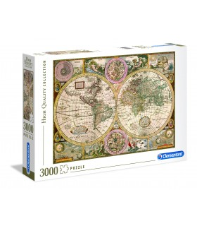 Puzzle Clementoni 3000 pz. Map