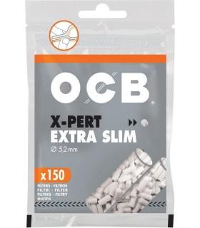 Filtrini OCB extra slim 5,2 mm. in busta conf. 10 buse da 150 filtri