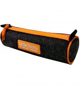 Mini Tombolino Smemoranda con Zip colore Nero e Arancione