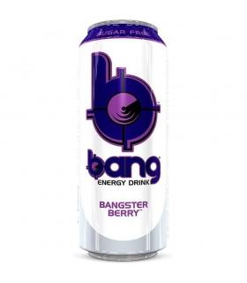 ENERGY DRINK BANG BANGSTER BERRY LATTINA DA 473ML CONF. 12 PZ.