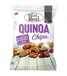 CHIPS EAT REAL QUINOA TOMATO&GARLIC BUSTINA 22g CARTONE 24 PZ.