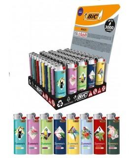 Accendini Bic Maxi Fantasia Geo Bird conf. 50 pz. assortiti