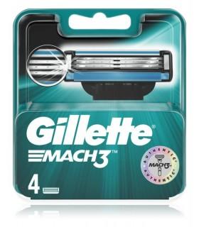Ricambi Gillette Mach3 4 pz.