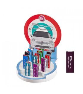 Accendino in Metallo Fiat Cinquecento Fino Expo da 12 pz. assortiti