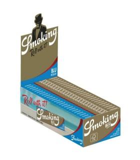 Cartina Smoking corta blue conf. 50 libretti da 60 cartine