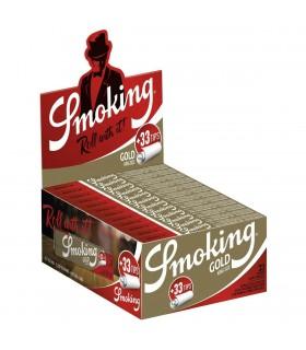 Cartina Smoking Oro KS Lunga + Filtri in carta conf. 24 libretti