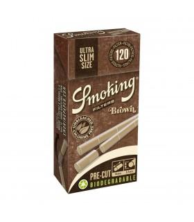 Filtri Smoking Brown Bio Ultra Slim 5.7mm in scatolina conf. 20 pz.