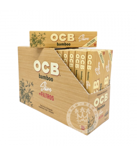 Cartina Ocb Bamboo Slim + Filtri in carta conf. 32 Libretti