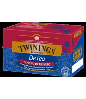 Tè Twinings Classic Deteinato conf. da 25 bustine