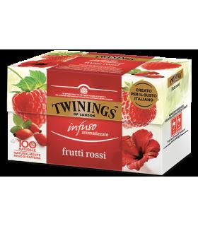 Infuso Twinings Aromatizzato ai Frutti Rossi conf. 25 bustine