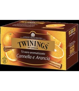 Tè Twinings Nero Fruttato all'Arancia  e Cannella conf. da 25 bustine