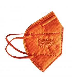 Mascherina Autofiltrante FFP2 CE 2841 colore Arancione conf. 10pz (blisterate singolarmente)