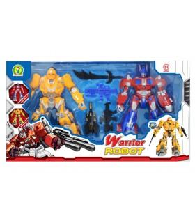 Set Warrior Robot Mazzeo Giochi