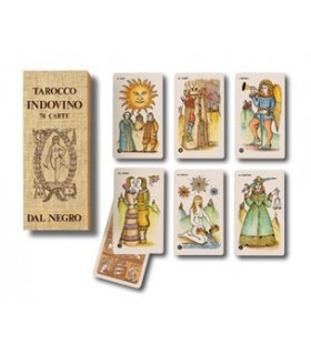 Tarocco indovino 78 carte Dal Negro