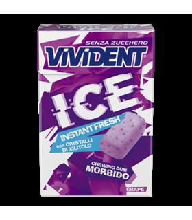 VIVIDENT ICE ISTANT FRESH GRAPE S/Z ASTUCCIO CONF. DA 20 PZ.