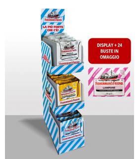 FISHERMAN'S EXTRA STRONG ASSORTITO EXPO 72 PZ. + 24 BUSTINE LAMPONE OMAGGIO IN PRENOTAZIONE CON CONSEGNA A FINE AGOSTO