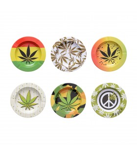 Posacenere in Metallo Atomic Fantasia Cannabis conf. 6 pz.